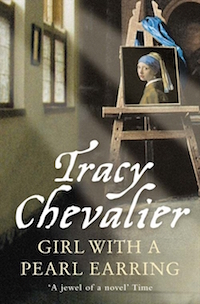Bookmark of Girl with a Pearl Earring by Tracy Chevalier
